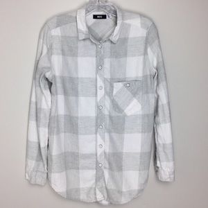 BDG URBAN OUTFITTERS Button Down Flannel Shirt